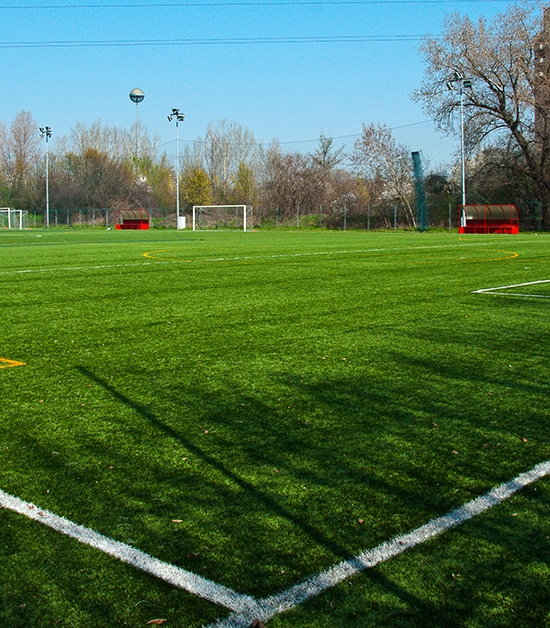 Sports fields and facilities
